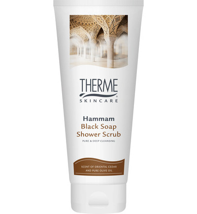 Shower scrub hammam