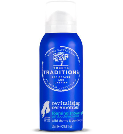 Revitalising ceremonies foaming shower gel
