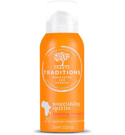 Nourishing spirits foaming shower gel mini
