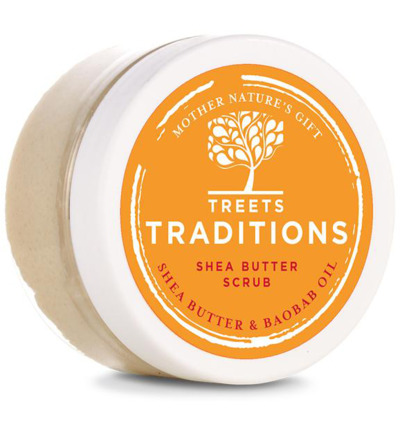 Nourishing spirits shea butter scrub mini