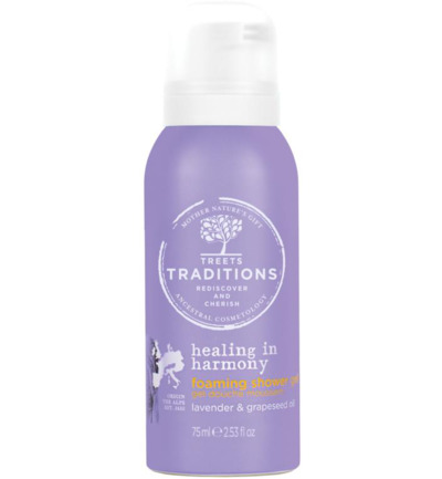 Healing in harmony foam shower gel mini