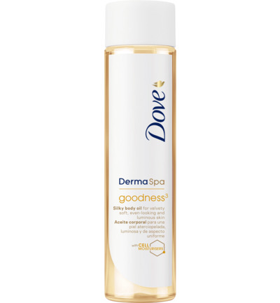 Derma spa body oil goodness