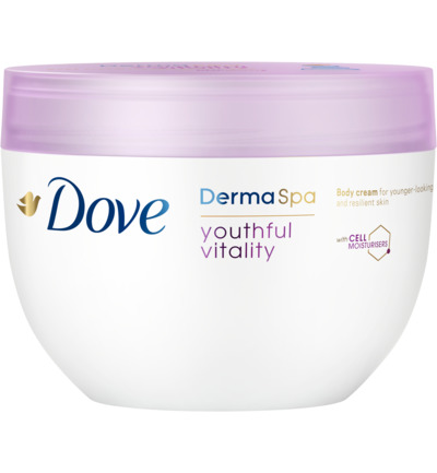 Derma spa body cream youthful vitality