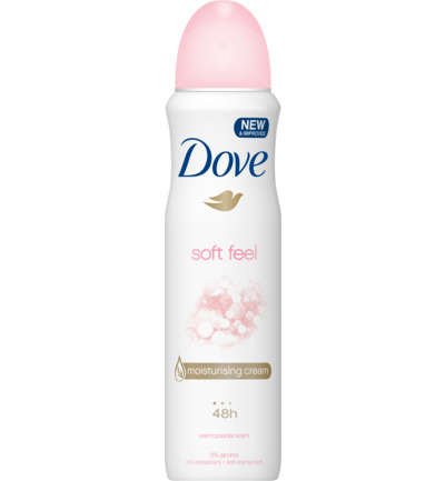 Deodorant spray soft feel