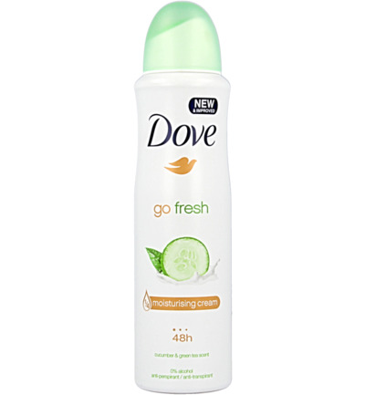 Deodorant spray go fresh cucumber
