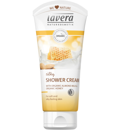 Douchecreme/ shower cream silky almond & honey