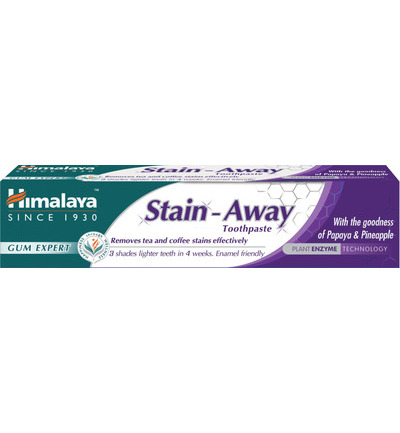Herbal tandpasta stain away