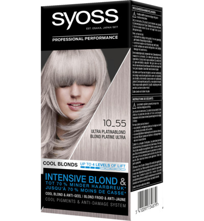Color Cool Blonds 10-55 ultra platinum blond