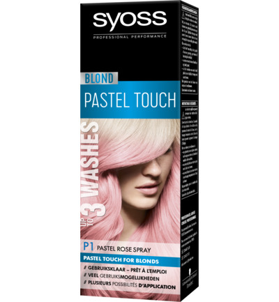 Blond P1 Pastel Rose 1-2 weken Spray Haarverf