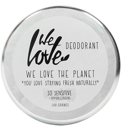 The planet cremedeodorant so sensitive