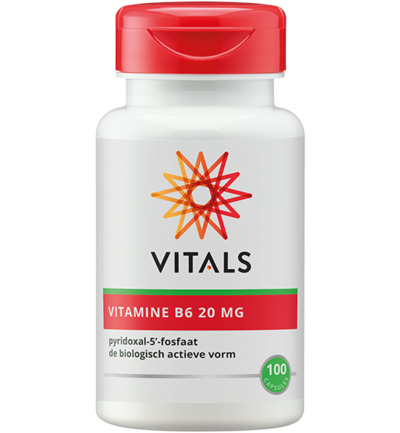 Vitamine B6 pyridoxaal 5 fosfaat 20 mg