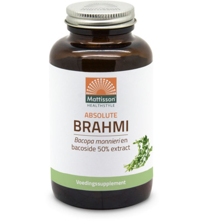 Brahmi bacopo monnerrie bacoside 50% extract