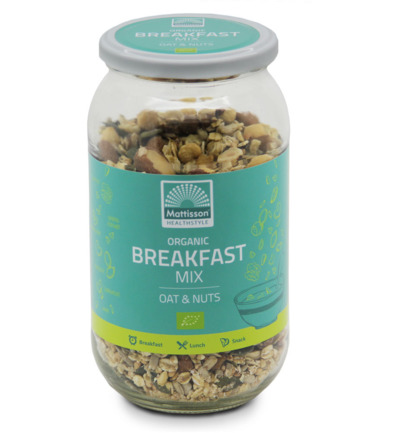 Organic breakfast mix oat & nuts