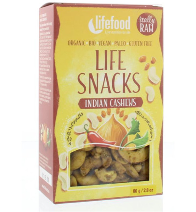 Lifesnacks Indiase cashews