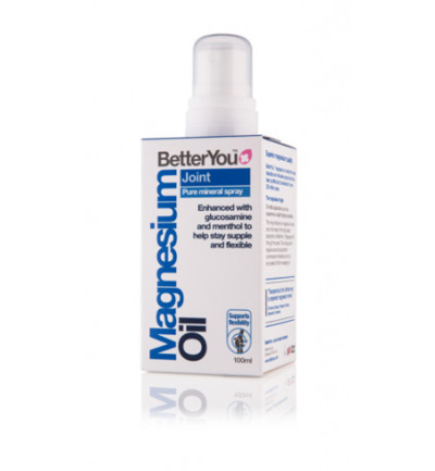 Magnesium oil joint spray