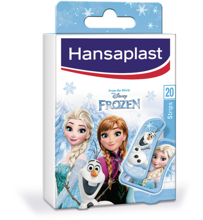 Pleister strip frozen