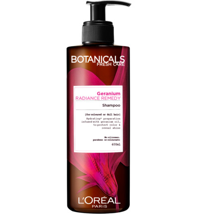 Botanicals radiance remedy shampoo