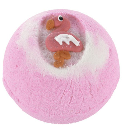 Bath ball flamingo paradise