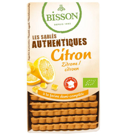 Biscuits citroen