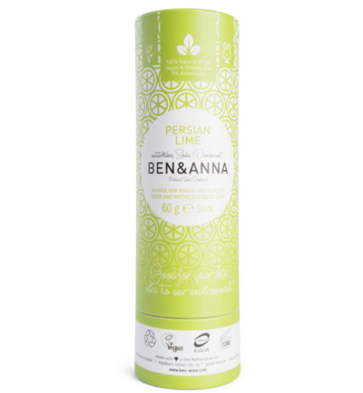 Afbeelding van Ben & Anna Deodorant Persian Lime Push Up 60g