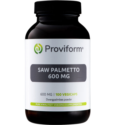 Saw palmetto 600 mg
