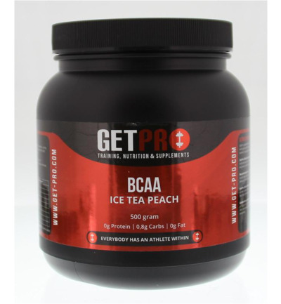 BCAA ice tea peach