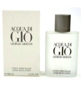 Acqua di gio homme aftershave