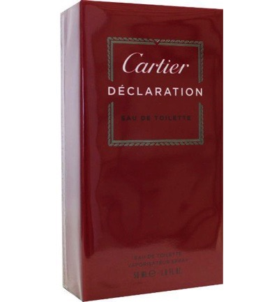 Cartier Declaration Eau De Toilette Man 50ml
