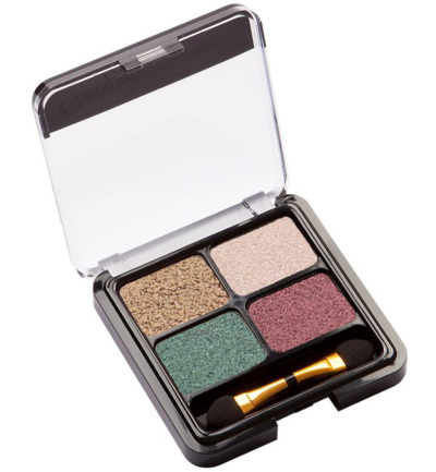 Eyeshadow quattro green