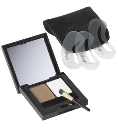 Eyebrow make up duo highlighter medium