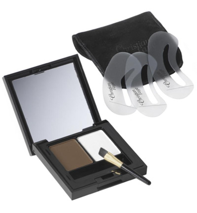 Eyebrow make up duo highlighter dark