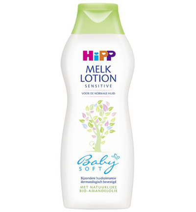 Baby soft melk lotion