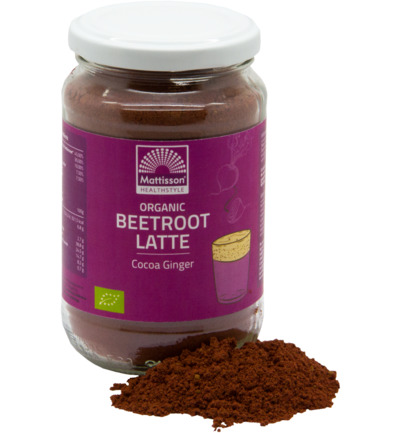 Beetroot Latte Cacao Gember