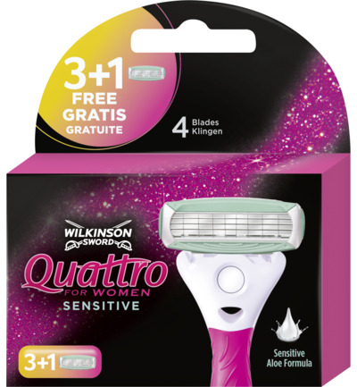 Quattro woman sensitive mesjes 3 + 1
