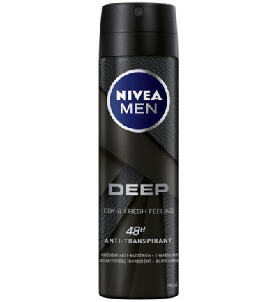 Men deodorant deep spray
