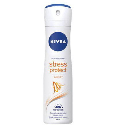 Deodorant stress protect female spray