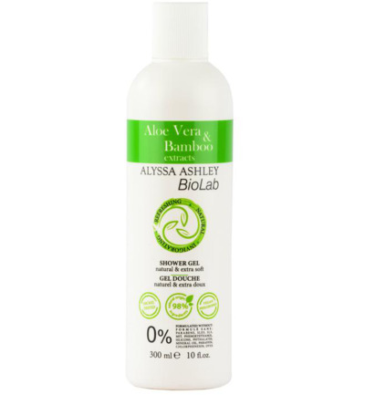 Aloe vera/bamboo shower gel