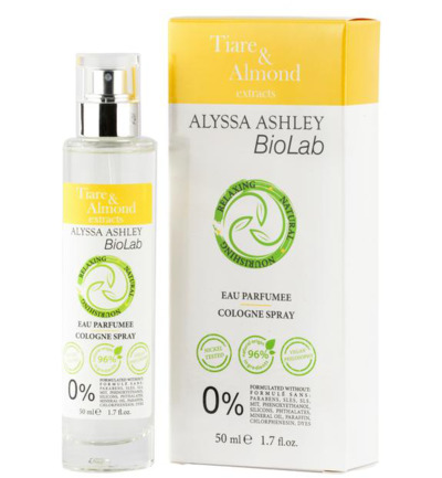 Afbeelding van Alyssa Ashley Biolab Tiare/Almond Eau Parfumee 50ml