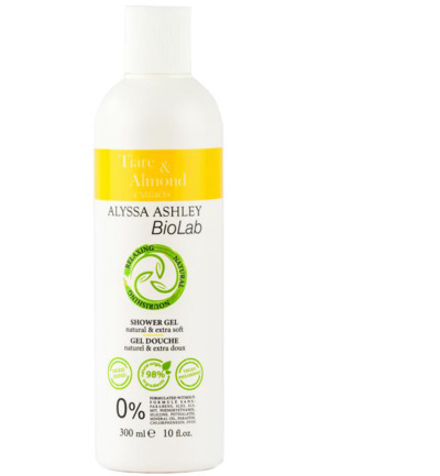 Biolab tiare/almond shower gel
