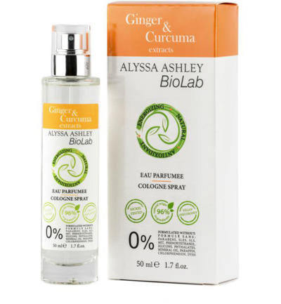 Afbeelding van Alyssa Ashley Biolab Ginger/Curcuma Eau Parfumee 50ml