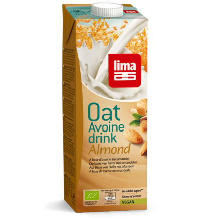 Oat drink almond