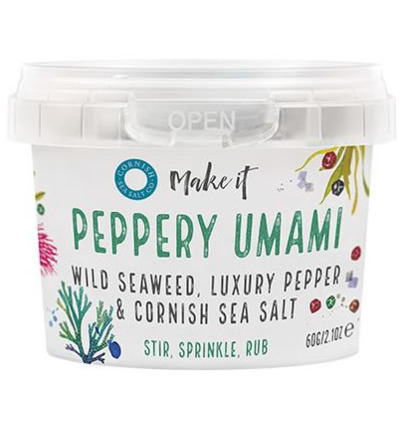Afbeelding van Cornish Sea Salt Zeezout Peppery Umami 40g
