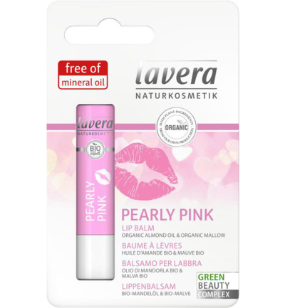 Lip balm pearly pink