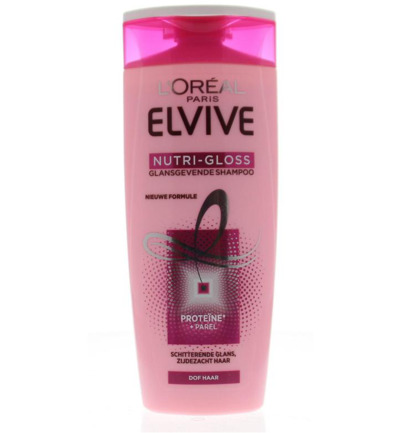 Elvive shampoo nutri gloss glans