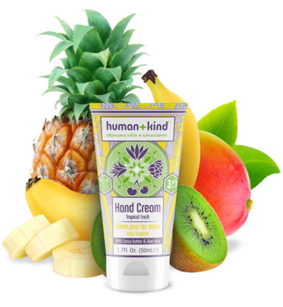 Vegan hand elbow foot cream tropical