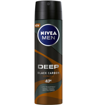 Men deodorant deep espresso spray