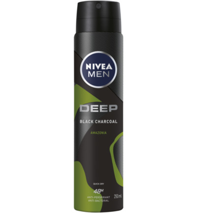 Men deodorant deep amazonia spray