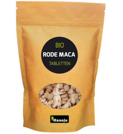 Maca red organic premium 500 mg