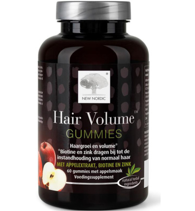 Hair volume gummues