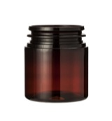 Pill jar 75 ml amber